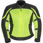 Women's Hi-Viz/Black Intake Air 4.0 Jacket - 8767-0413-76