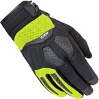 Women's Black/Hi-Viz DXR Gloves - 8316-0113-76