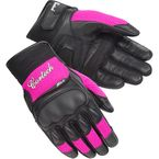 Women's Black/Pink HDX 3 Gloves - 8330-0308-76