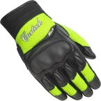 Women's Black/Hi-Viz HDX 3 Gloves - 8330-0313-76