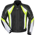 Black/Hi-Viz/White VRX Air Jacket - 8951-0113-06