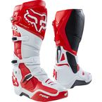 White/Red Instinct Boots - 12252-077-10
