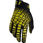 Dark Yellow 360 Grav Gloves - 17289-547-L
