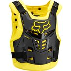 Black/Yellow Proframe LC Roost Deflector - 13577-019-S/M