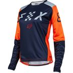 Women's Gray/Orange Switch Jersey - 19465-230-L