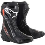 Black/Grey/Red Supertech R Boots - 2220015-1051-41