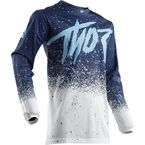 White/Navy Pulse Air Hype Jersey - 2910-4762