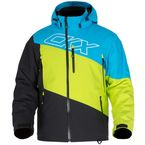 Blue/Lime Husky 3 in I Jacket - M18304_EBLLIM_3XL