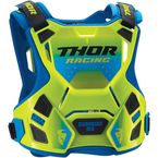 Youth Fluorescent Green/Blue Guardian MX Roost Guard - 2701-0855
