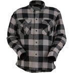 Gray/Black The Duke Flannel Shirt - 3040-2547