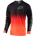 Orange Starburst Radius 2.0 Jersey - 340003704