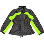 Black/Hi-Viz Neon RS-2 Two-Piece Rainsuit Version 2 - 1010-2403X