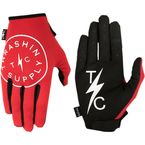 Red Stealth V2 Gloves - SV2-02-010