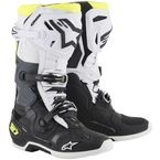 Black/White/Fluorescent Yellow Tech 10 Boots - 2010019-125-9