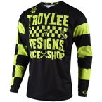 Youth Lime Race Shop 5000 GP Jersey - 309667004