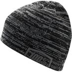 Black/Gray Essential Beanie  - 20116-027-01