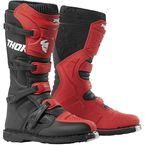 Red/Black Blitz XP Boots - 3410-2185