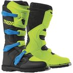 Flo Acid/Black Blitz XP Boots - 3410-2194