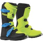 Youth Fllo Acid/Black Blitz XP Boots - 3411-0533
