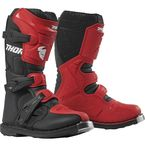 Youth Red/Black Blitz XP Boots - 3411-0523