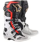 Black/Silver/Gold Limited Edition Battle Born Tech 10 Boots - 2010019-1159-8