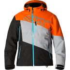 Orange/Silver/Black Husky 3 in 1 Jacket - M18304_OGSIBKBL_L