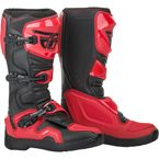 Red/Black Maverik Boots - 364-67310
