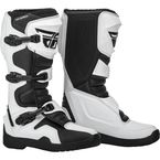 White/Black Maverik Boots - 364-67510