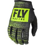 Black/Hi-Vis Kinetic Noiz Gloves - 372-51009