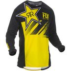 Yellow/Black Kinetic Rockstar Jersey - 372-323L