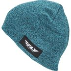 Teal Fitted Beanie - 351-0841