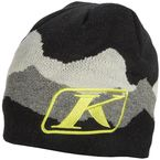 Black/Gray/Lime Beanie - 3133-003-000-030