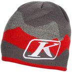 Gray/Red Beanie - 3133-003-000-100