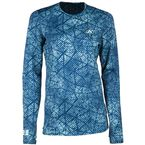 Women's Blue Solstice 3.0 Base Layer Shirt - 3287-002-150-200
