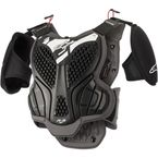 Black/Gray A-5 Youth Body Armor - 6740518-105-LXL