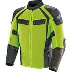 Black/Hi-Viz Mesh Phoenix Ion Summit Jacket - 1826-5404
