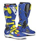Flo Yellow/Blue Crossfire 3 SRS Boots - SID-C3S-FYBL-44