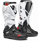 Black/White Crossfire 3 SRS Boots - SID-C3S-BKWH-45