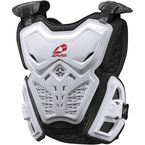 Youth White F2 Chest Protector - F2-W-S