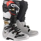 Black/Silver/White/Gold Tech 7 Boots  - 2012014-1829-9