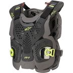 Black/Yellow A-1 Plus Chest Protector  - 67001201155M/L