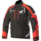 Black/Red Andes Honda Drystar Jacket - 3207418-13-L