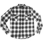Black Kustom Motorcycles Long Sleeve Shirt - MG60123L