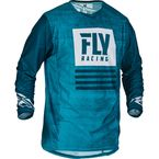 Blue/Navy Kinetic Mesh Noiz Jersey - 373-311L