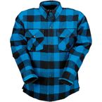 Blue/Black The Duke Flannel Shirt - 3040-2868