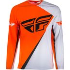 Youth Orange/White SNX Windproof  Jersey - SNX-1901YL
