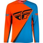 Orange/Blue SNX Windproof Jersey - SNX-1902L