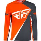 Orange/Gray SNX Windproof Jersey - SNX-1903L