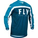 Navy/Blue/White F-16 Jersey - 373-921L