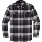 Black/Grey Feller Flannel Shirt  - 3040-2886